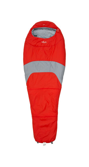 Rab Ignition 3 - Sacos de dormir - gris/rojo